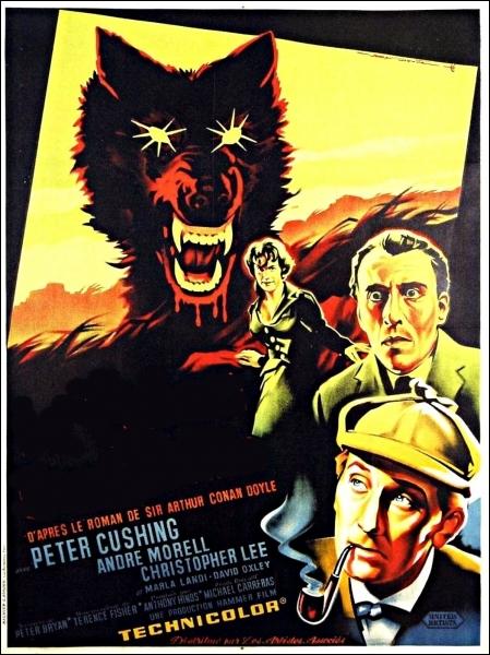 Film britannique réalisé par Terence Fisher de 1959. Le célèbre détective Sherlock Holmes et son fidèle Watson sont appelés pour résoudre une effroyable malédiction poursuivant une famille . .