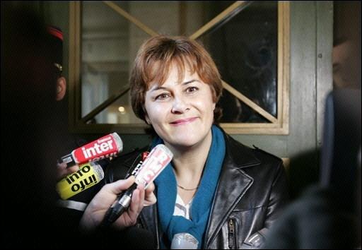 Elle a été Ministre de l'Aménagement du territoire et de l'Environnement , voici Madame ...