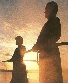 Parmi les arts martiaux japonais, il y a la pratique du iaïdo. C'est un art du sabre, qui se pratique ?