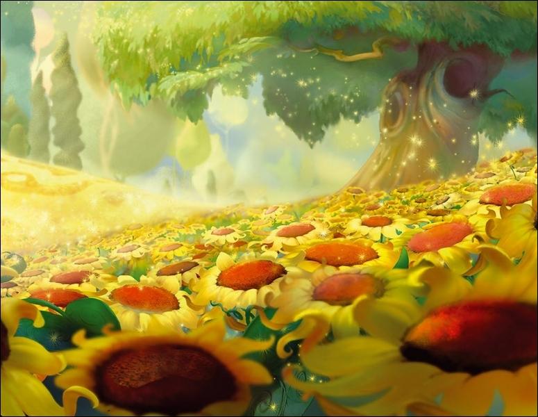 Quel arbre a donné son nom à la forêt où vivent les fées ?