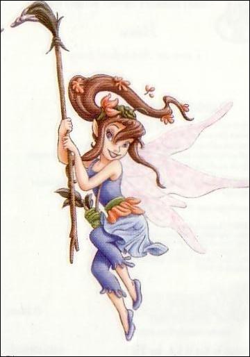Qu'est-ce qui tache souvent les vêtements de la fée Bess ?