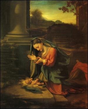 L'Adoration de l'Enfant, 1526