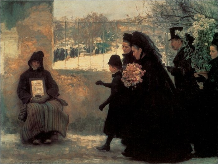 La Toussaint, 1888