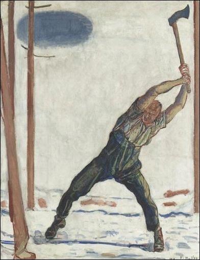 Le Bûcheron, 1910
