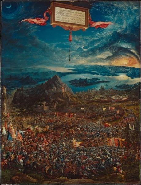 La Bataille d'Alexandre, 1529