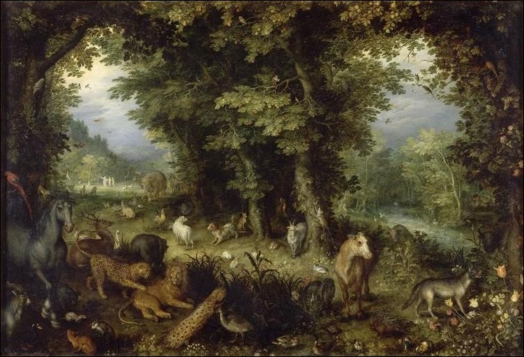 La Terre ou le Paradis terrestre, 1607-1608