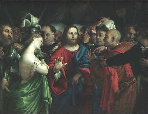 La Femme adultère, 1527-1529