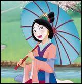 Dans le film Disney, comment s'appelle la jeune héroïne de cette légende chinoise ?