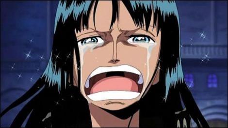 Que veut entendre Luffy de la part de Robin ?