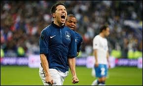 Nasri a marqué un penalty en équipe de France. Quand et face à quelle équipe était-ce ?