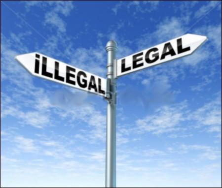 Une petite question de vocabulaire pour vérifier que tu as tout compris ! Ce qui est __________, c'est ce qui est autorisé par la loi. Par contre, ce qui est __________, c'est ce qui ne l'est pas !