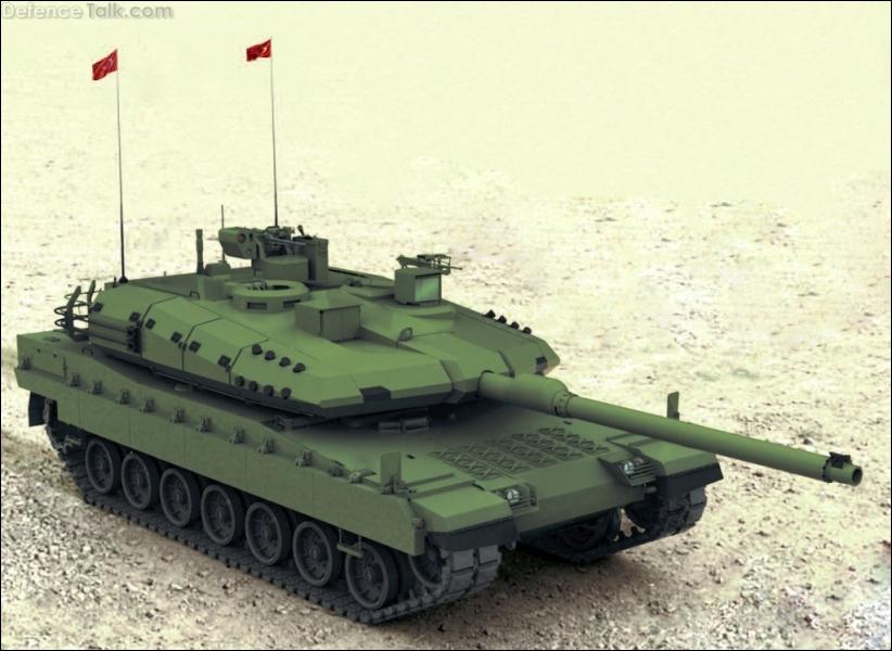 Quel pays développe ce char qui porte le nom d'Altay ?