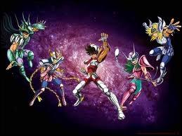 Les Chevaliers du Zodiaque  : « Des quatre coins de l'univers, quand triomphe le mal, sans hésiter, ils...