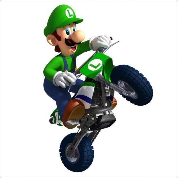 Sur quel véhicule se trouve Luigi ?