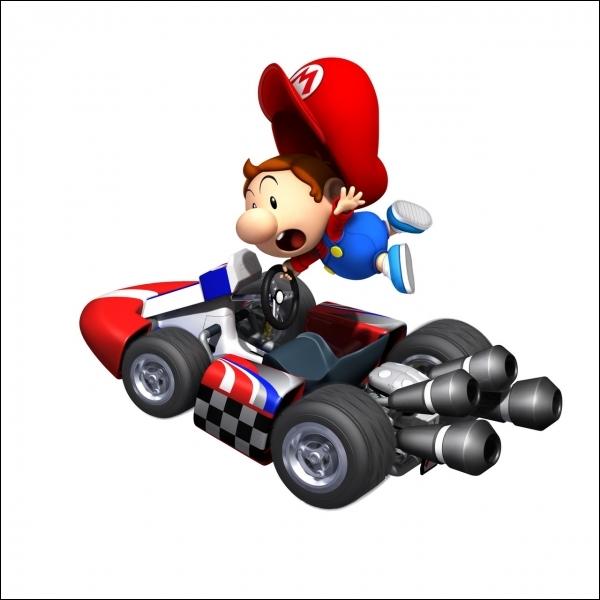 Sur quel véhicule Bébé Mario va-t-il ré-atterrir ?