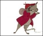 Comment s'appelle la souris des  Aristochats   ?