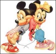 Lequel de ces prénoms correspond à celui de la fiancée de Mickey ?