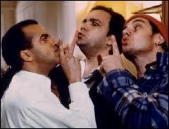 Ces trois-là se découvrent frères, et restent soudés pour récupérer ?