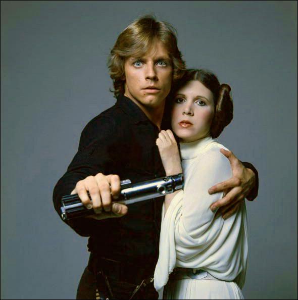 Sans doute les frère et soeur les plus célèbres du monde, ce sont Luke et Leia Skywalker. Quelle est leur particularité ?