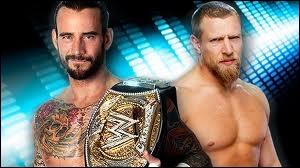 Quel est le vainqueur entre CM Punk vs Daniel Bryan pour le  WWE Championship  ?