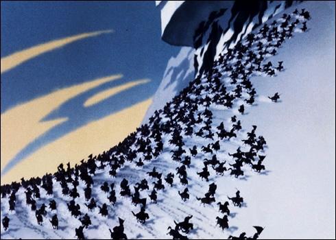 Quelle armée attaque la Chine dans 'Mulan' ?