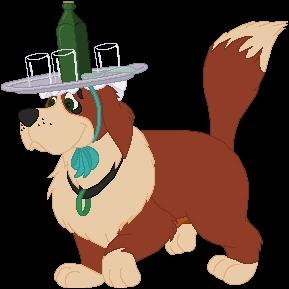 Pourquoi, dans 'Peter Pan' , le chien ne réagit-il pas à l'arrivée de Peter dans leur maison ?