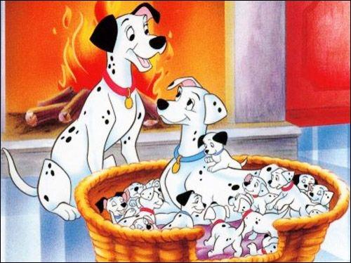 Comment s'appelle la mère des 101 dalmatiens ?