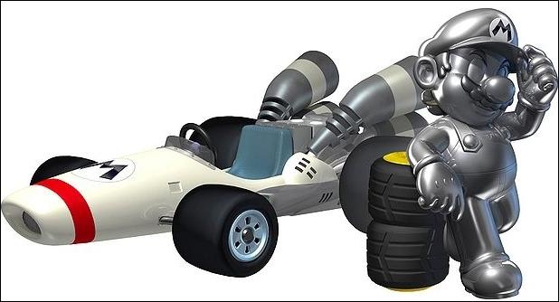 Combien de roues Métal Mario possède-t-il ? Cliquez sur l'image pour l'agrandir