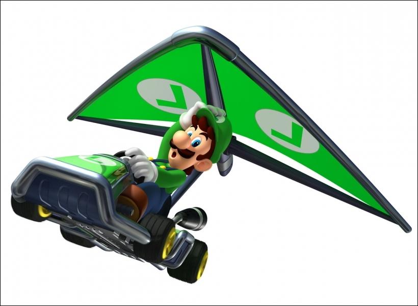 Comment s'appelle le planeur utilisé par Luigi ?