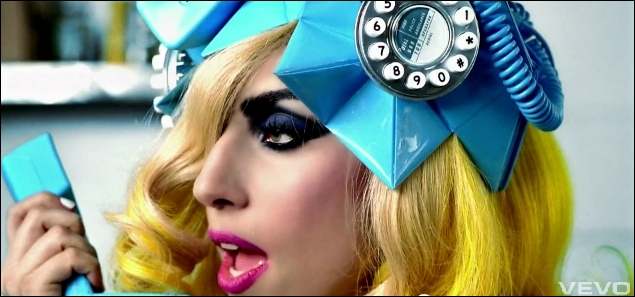 Du clip de quelle chanson de Lady Gaga est extraite cette image ?
