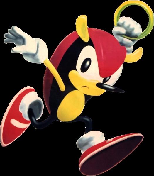 Quel personnage faisant partie des Chaotix n'apparait que deux fois dans l'univers Sonic avant de disparaître définitivement ?