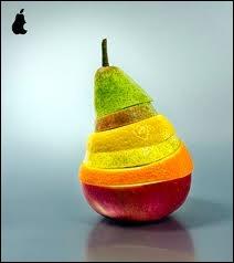 Une poire :