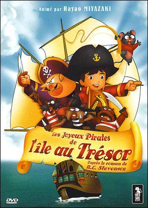 """""""Les Joyeux Pirates de l'Île au trésor"""" est une adaptation datant de 1971 et bien peu fidèle au roman puisque Silver est un cochon; ou encore Jim se voit donner la carte au trésor par Flint (supposé être mort et a son nom juste mentionné) et pas Billy Bones. Bien que Hayao Miyazaki ait en partie animé cette adaptation, qui l'a vraiment réalisée ?"""