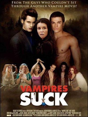 En 2010, sous quel titre le film américain  Vampires Suck  est-il sorti en France ?