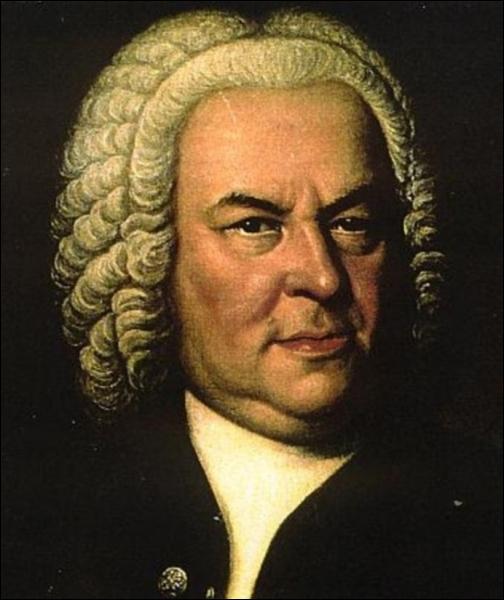 Grand compositeur allemand. Jean-Sébastien...