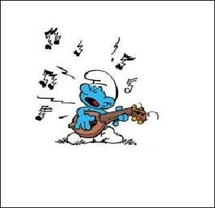 Il chante tout le temps mais manque de talent...