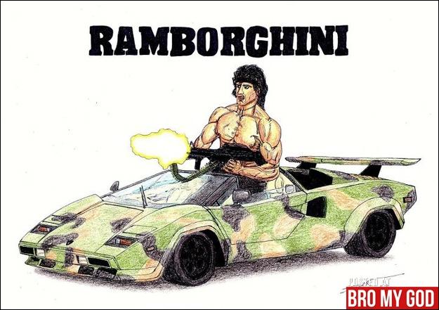 Rambo ou Rocky !