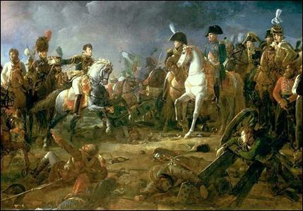 En 1805, une troisième coalition se forme contre Napoléon ( Russie, angleterre, autriche ). . Il envoie sa grande armée à marche forcée en Autriche et remporte sa plus belle bataille.