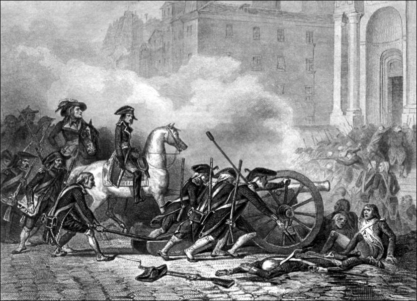 L'un de ses premiers faits d'armes durant la révolution, fut l'arrêt net d'une insurrection royaliste contre la Convention Nationale, sous l'ordre de Barras. C'était le...