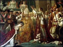 Le 2 Décembre 1804, Napoléon se fait sacrer...