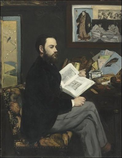 Emile Zola , 1868 :