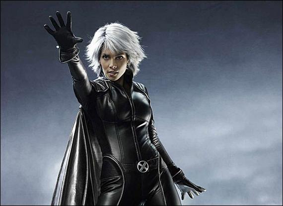 Dans le film X Men, quelle actrice joue le rôle de Tornade, la mutante ?