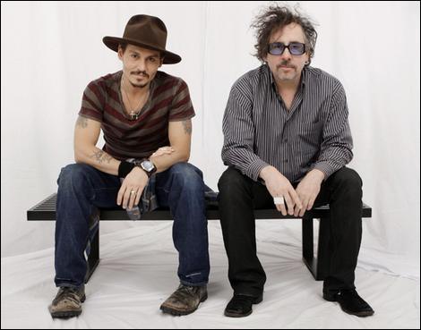 Dans combien de film Johnny Depp a t-il coopéré avec Tim Burton :