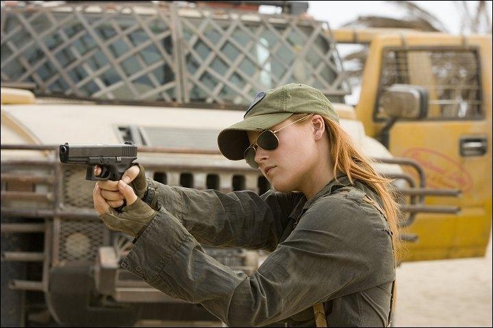 Dans quelle ville se situe cette scène de  Resident Evil  ?