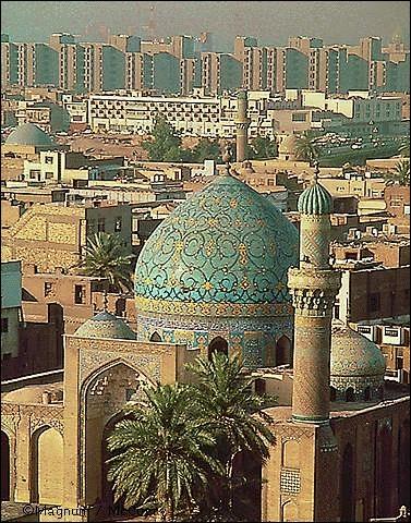 Capitale irakienne.