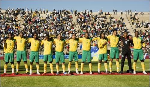 Surnom des joueurs de l'équipe de football d'Afrique du Sud. Les...