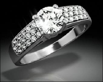 De fiançailles ou de mariage. Une...