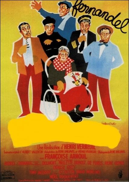 Sorti en 1954 , voici l'affiche de ...