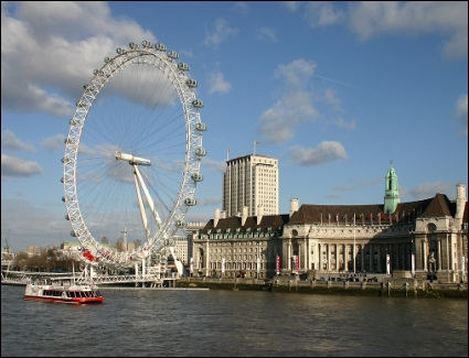 Comment s'appelle cette attraction qui permet d'admirer l'urbanisme londonien ?