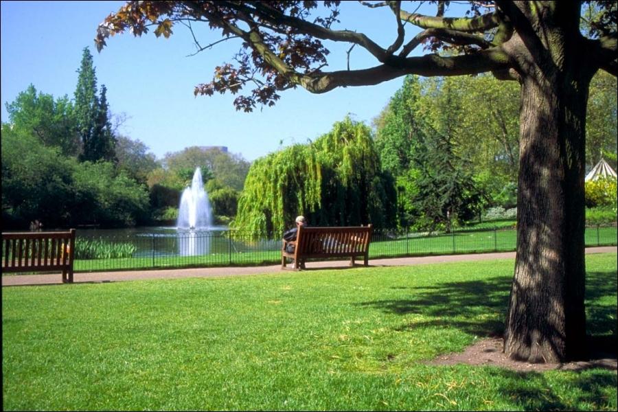 Quel est le nom du parc le plus étendu de la capitale anglaise ?